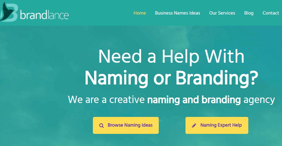Brandlance Branding and Naming Tool