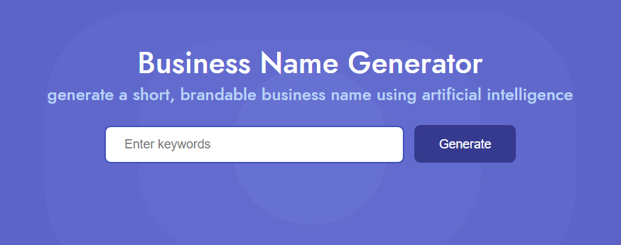 Namelix Cool Name Ideas