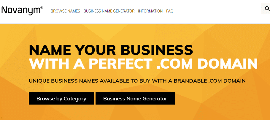 Novanym Company Name Generator